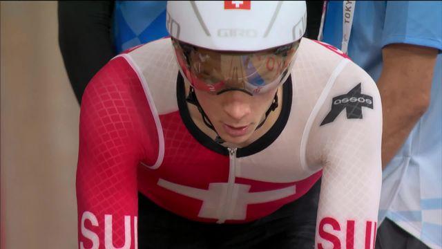 Cyclisme sur piste, poursuite par équipe messieurs: la Suisse termine à la 8e place [RTS]