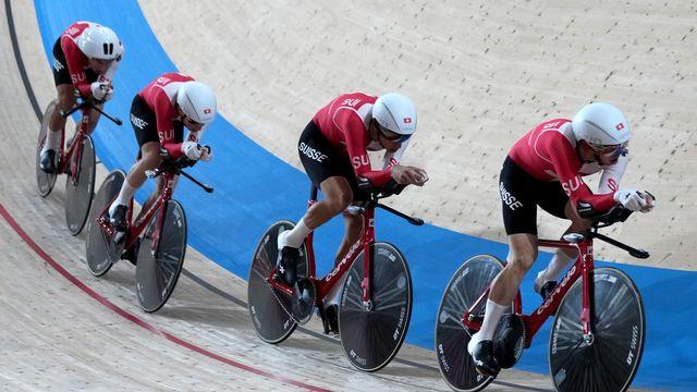 L'équipe de Suisse repart de Tokyo avec un diplôme olympique. [EPA/Christophe Jue - Keystone]