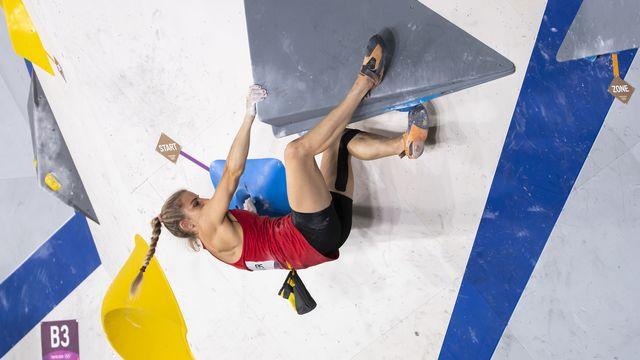 Petra Klingler a fini loin des huit qualifiées. [Peter Klaunzer - Keystone]