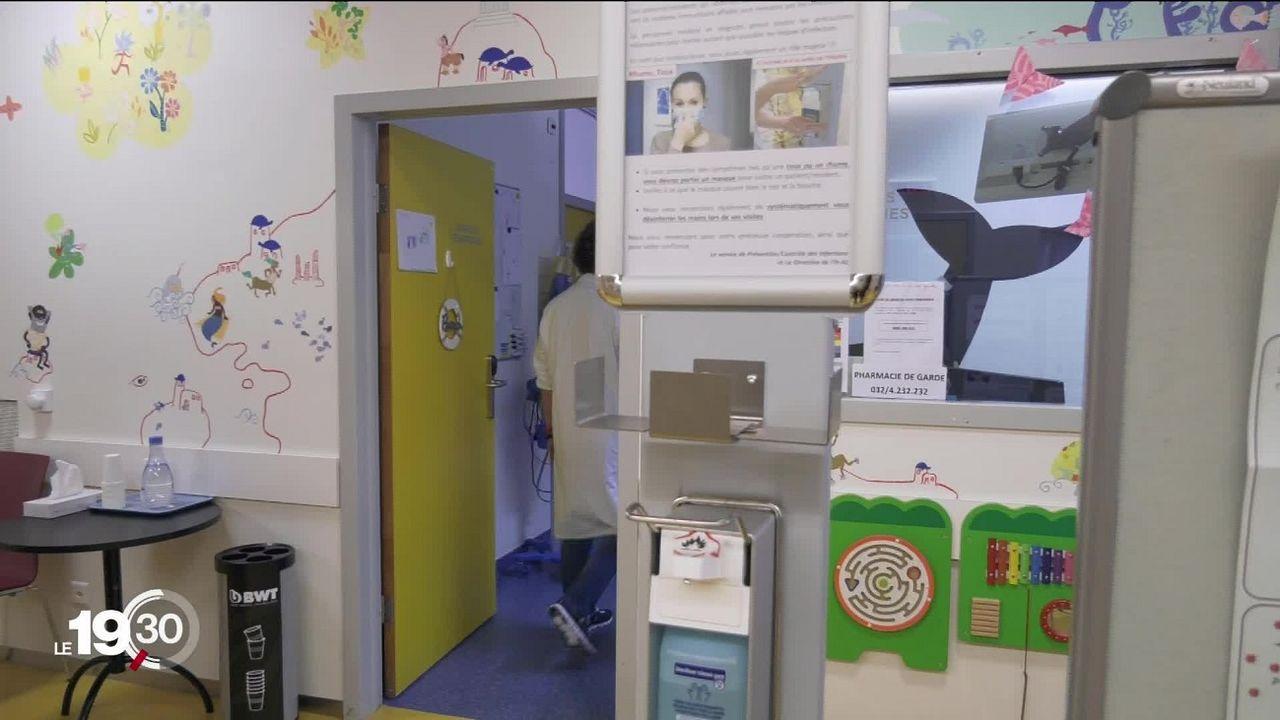 Des maladies infantiles associées à l'hiver sont en augmentation cet été [RTS]