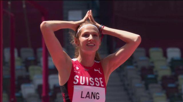 Athlétisme, saut en hauteur dames: Salomé Lang (SUI) est éliminée à 1.90 mètres [RTS]