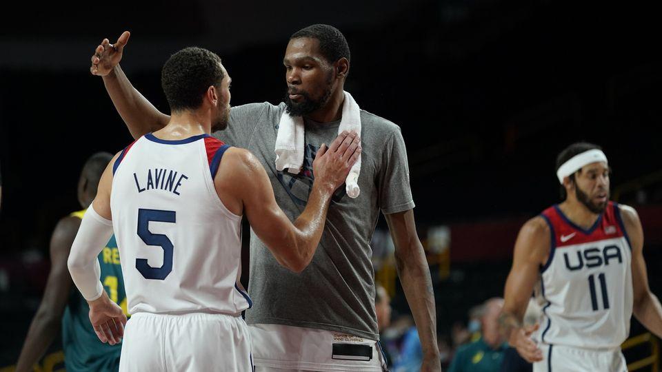 Kevin Durant et Cie se sont qualifiés pour la finale. [AP Photo/Charlie Neibergall - Keystone]