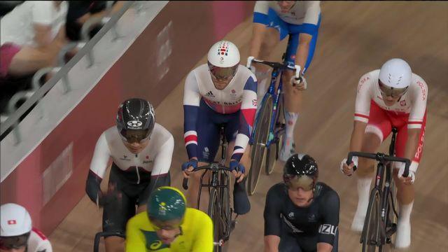 Cyclisme piste, omnium messieurs: Matthew Walls (GRB) remporte le scratch, Thery Schir (SUI) 9e de l'épreuve [RTS]