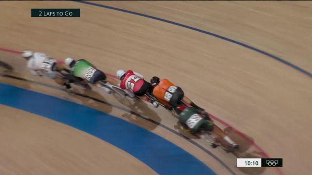 Cyclisme piste, omnium messieurs (2-4): 4e après la course tempo, Thery Schir (SUI) peut rêver de médaille [RTS]