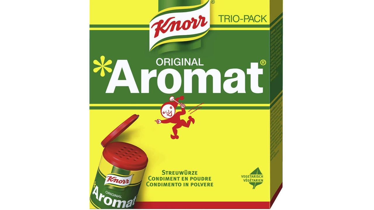Boîte d'Aromat. [Knorr]