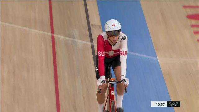 Cyclisme piste, omnium messieurs (3-4): Thery Schir (SUI) 3e de la course à élimination et au pied du podium avant la dernière épreuve! [RTS]