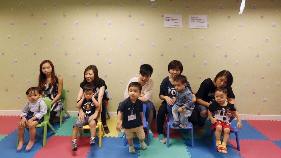 La politique de l'enfant unique a marqué durablement les familles chinoises. [Bobby Yip - Reuters]