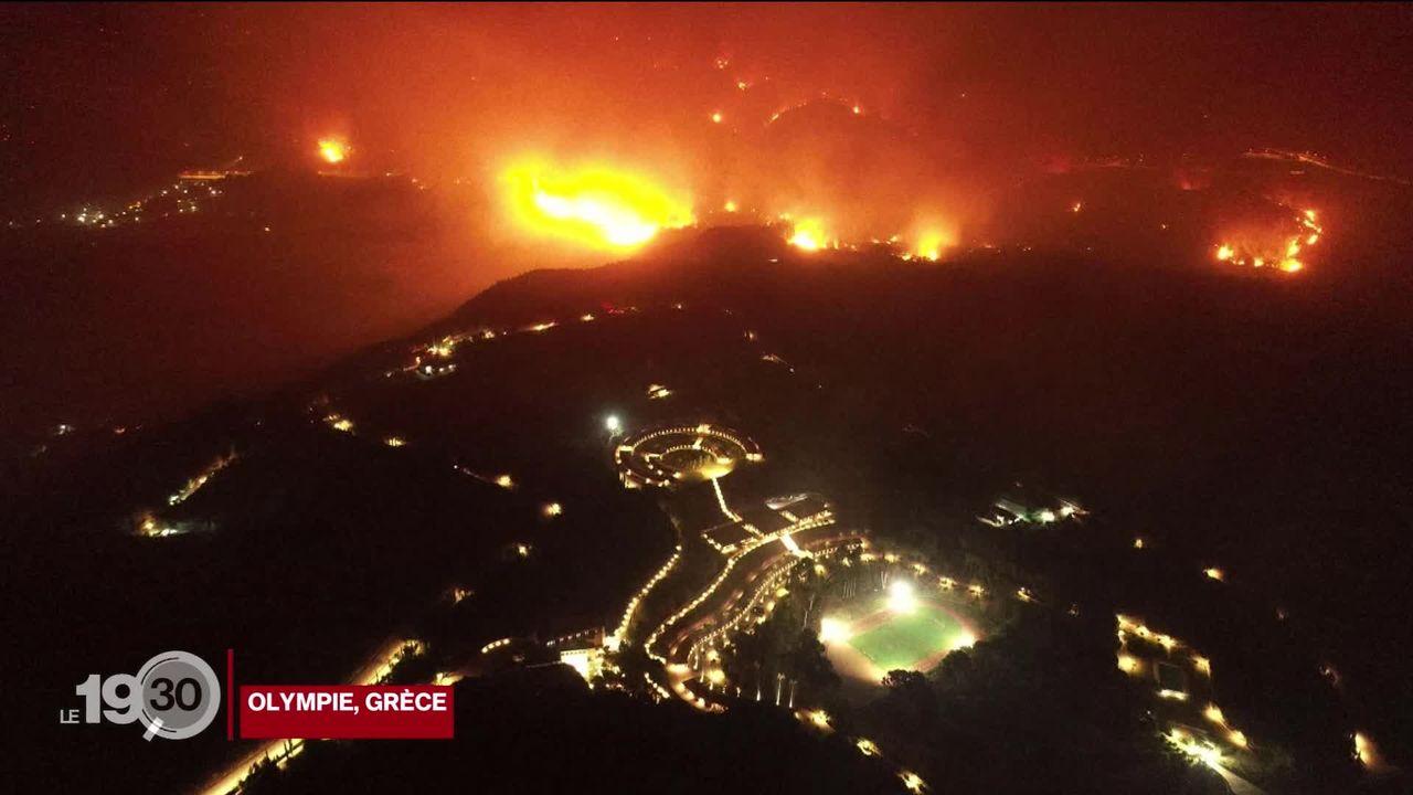 Crise climatique: la Turquie et la Grèce sont toujours en proie à de violents incendies [RTS]