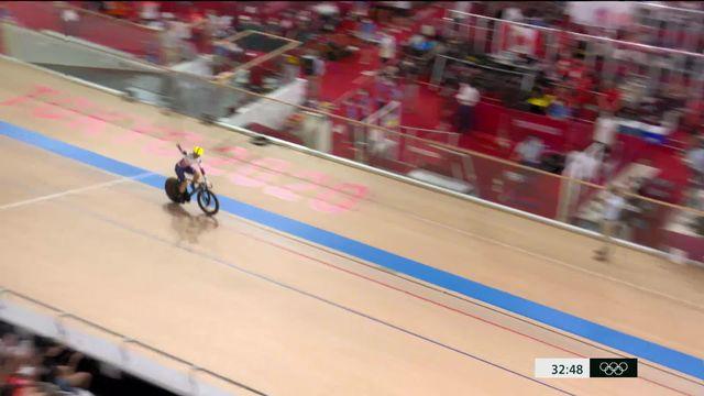 Cyclisme piste, Madison dames: les Britanniques sont championnes olympiques devant les Danoises et les Russes ! [RTS]
