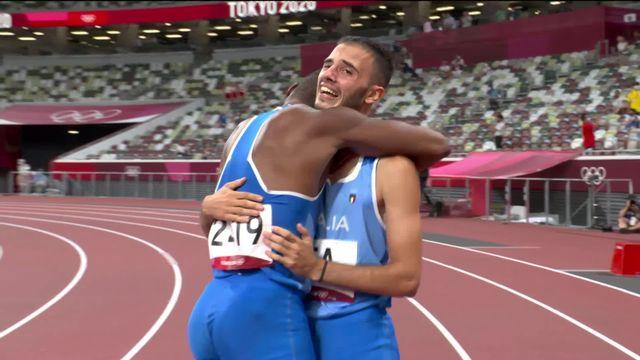 Athlétisme, 4x100 messieurs: l'Italie de Marcell Jacobs remporte l'or! [RTS]