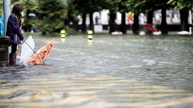 La météo a un impact sur notre moral et nos comportements. [Samuel Golay - Keystone]