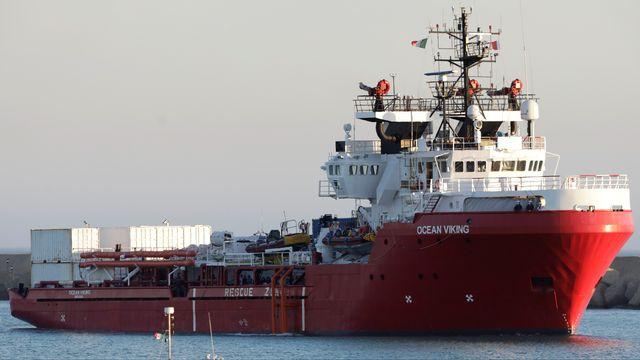 Le bateau de SOS Méditerranée Ocean Viking. [Antonio Parrinello - Reuters]