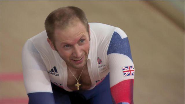 Cyclisme sur piste, keirin messieurs: Jason Kenny (GBR) maitrise parfaitement sa finale et s'offre une nouvelle médaille d'or [RTS]