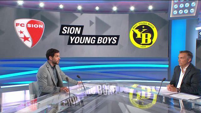 Super League, 3e journée: Sion - Young Boys (1-0) [RTS]