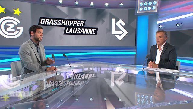 Super League, 3e journée: Grasshopper - Lausanne (3-1) [RTS]