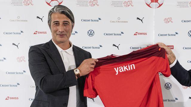 Murat Yakin est le nouveau sélectionneur de l'équipe de Suisse. [Alessandro della Valle - Keystone]