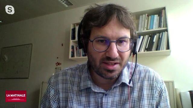 Benoît Valley explique les risques et les enjeux de la géothermie en Suisse (vidéo) [RTS]