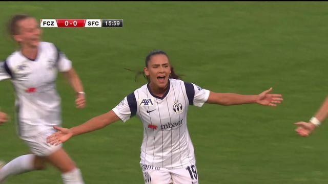 Women's Super League, 1re journée, Zurich - Servette Chênois (2-1): les Zurichoises s'imposent [RTS]