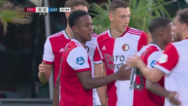 Qualifs Europa Conference League, match retour, Feyenoord - FC Lucerne (3-0): Feyenoord qualifié, Lucerne éliminé [RTS]