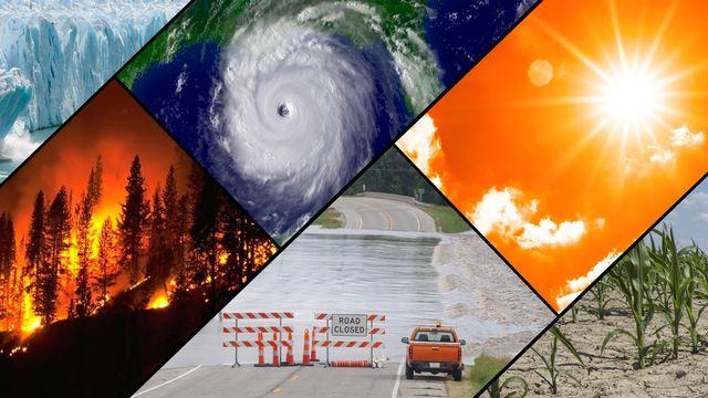 Les catastrophes liées aux fortes chaleurs ont rythmé l'actualité du mois de juillet 2021. [NOAA]