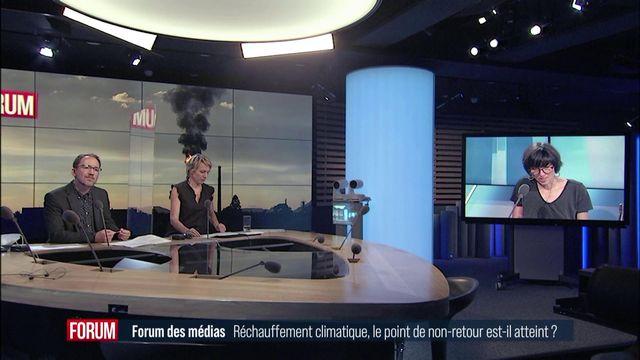 Débat entre Sarah Sermondadaz, Lise Bailat et Frédéric Lelièvre. [RTS - RTS]