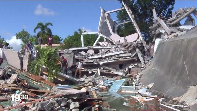 Haïti en état de choc à la suite du violent séisme qui a fait plus de 700 morts [RTS]