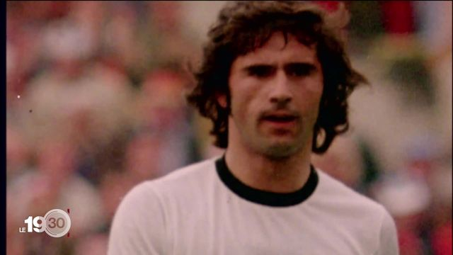 La légende du football allemand Gerd Müller a tiré sa révérence [RTS]
