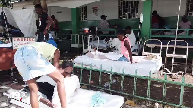 Haïti: le système de santé et les secours en manque de tout après le séisme [RTS]