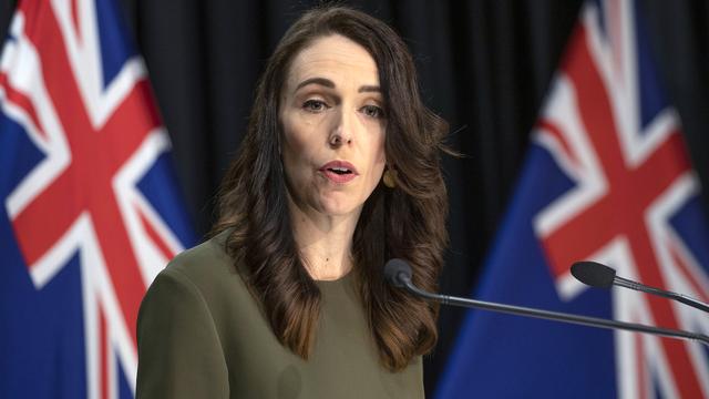 La Première ministre néo-zélandaise Jacinda Ardern. [Mark Mitchell - New Zealand Herald/AP/Keystone]
