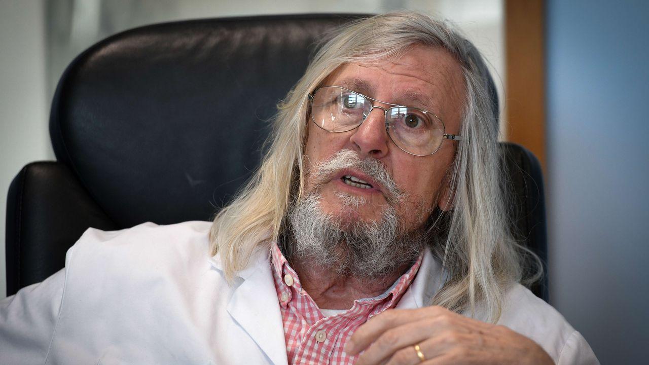 Le professeur français Didier Raoult,  directeur de l'IHU Méditerranée Infection. [Gérard Julien - AFP]