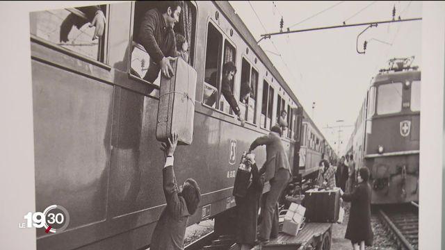 Musée historique de Lausanne: hommage à l'immigration italienne [RTS]