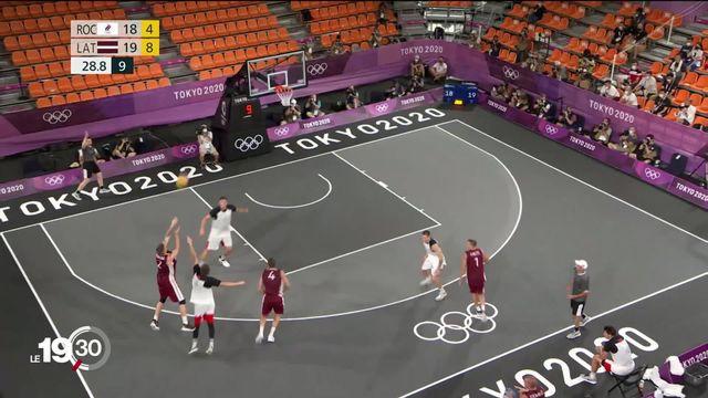 Lausanne accueille une étape du World Tour de basketball 3x3 [RTS]