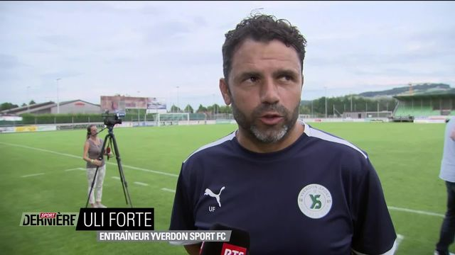 Football: Challenge League, 4e journée: Yverdon – Neuchâtel (1-1) interview d'Uli Forte après la rencontre [RTS]