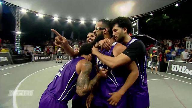 Basketball: World Tour 3x3: San Juan l'emporte 21-13 face à UB [RTS]