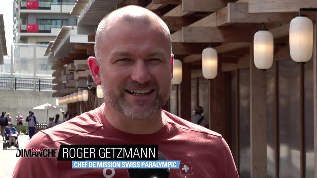 Jeux Paralympiques: Interview de Roger Getzmann, le chef de mission de Swiss Paralympic [RTS]