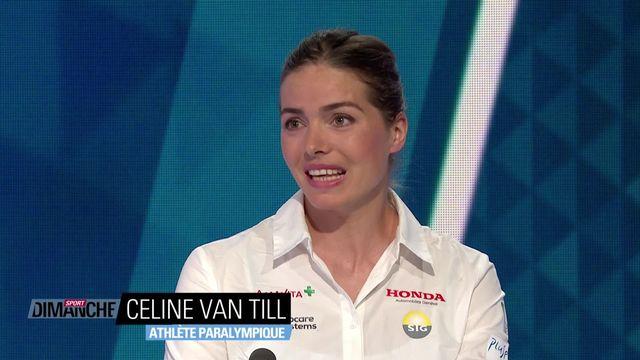 Jeux Paralympiques: Entretien avec Celine Van Till [RTS]