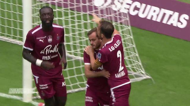 Football: Super League, 4e journée, FC Servette - Lucerne (4-1) [RTS]