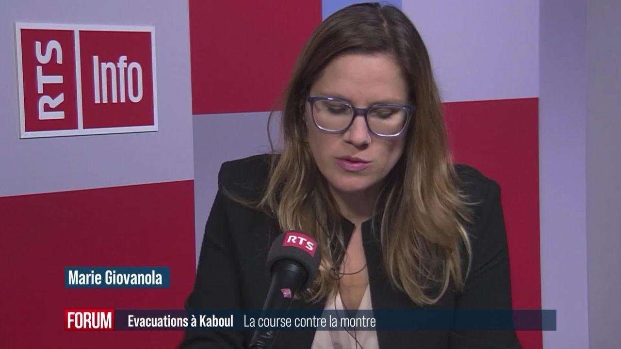 La Suisse termine ses rapatriements depuis l'Afghanistan (vidéo) [RTS]
