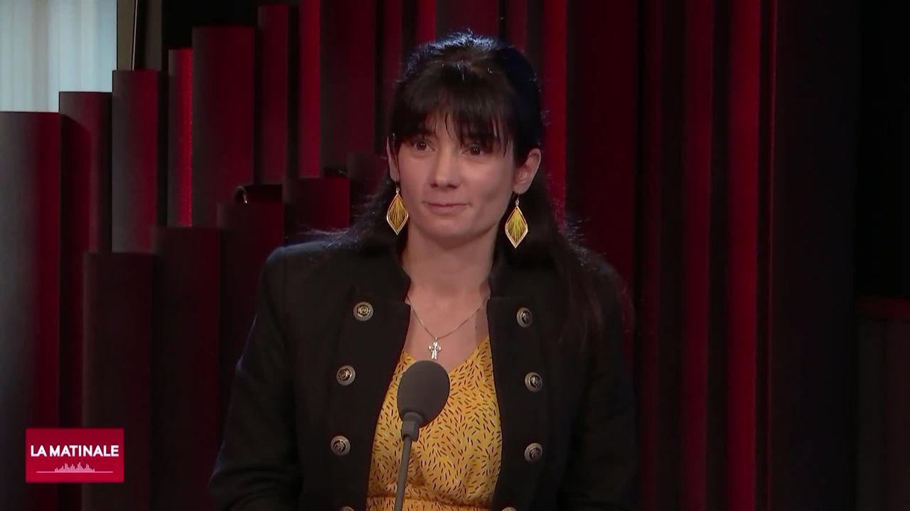 L'invitée de La Matinale (vidéo) - Lucie Rochat, présidente des Femmes UDC romandes [RTS]