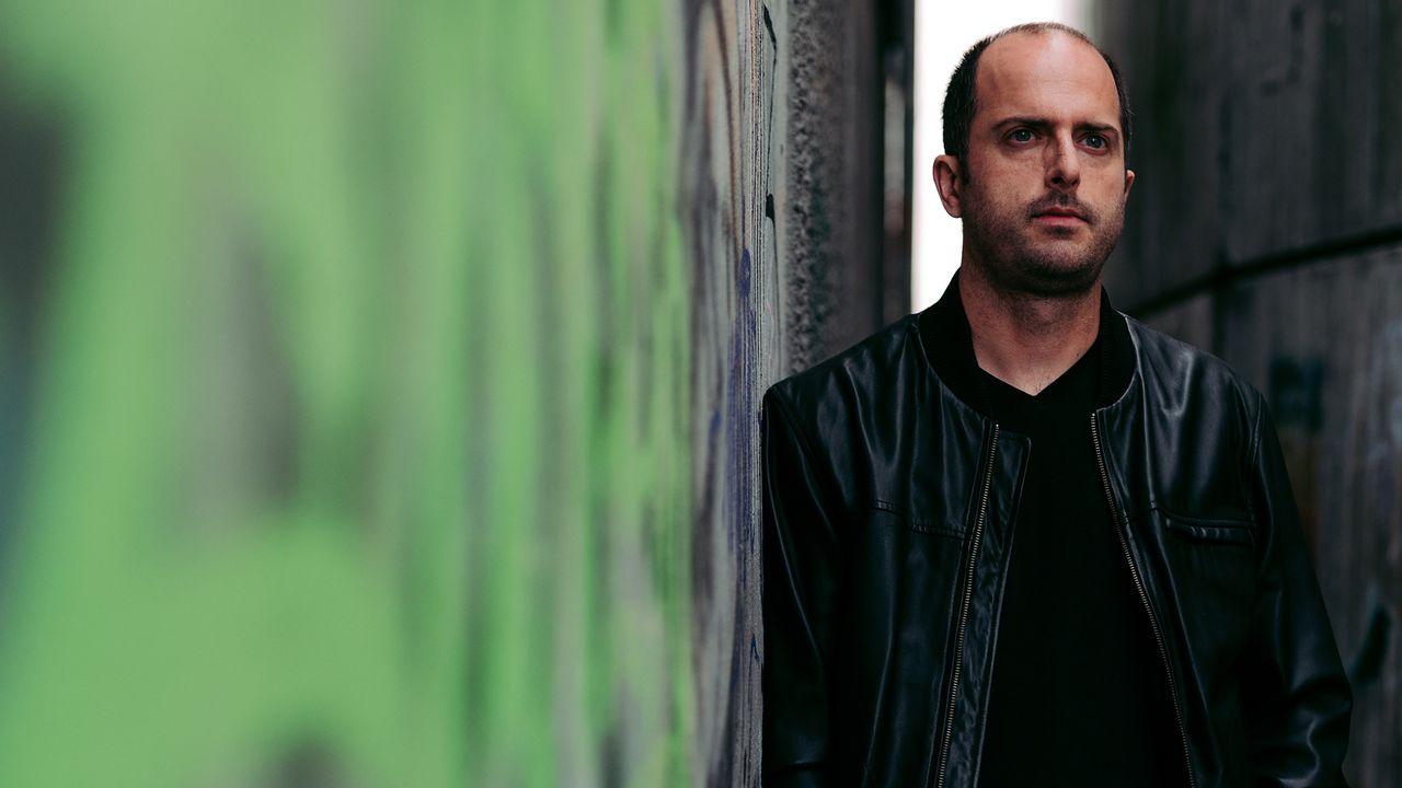 L'écrivain Julien Sansonnens. [David Zuber - DR]