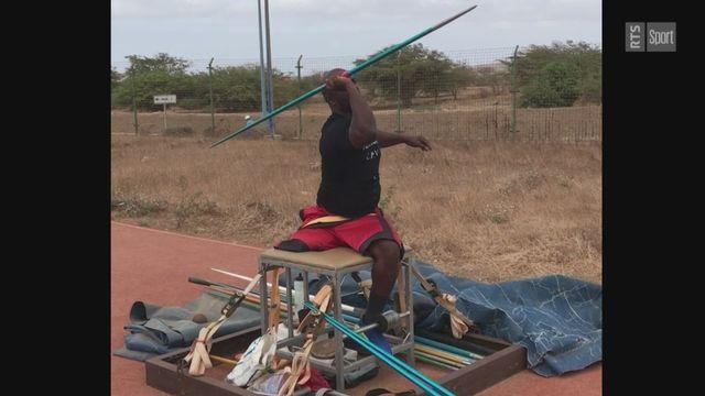 Tokyo 2020 - Paralympiques: avec le lanceur de javelot capverdien Marilson Semedo Fernandes [RTS]