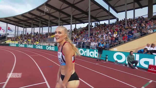 Athletissima, 800m dames: Baker (GBR) s'impose devant Hoffmann (SUI) 2e [RTS]