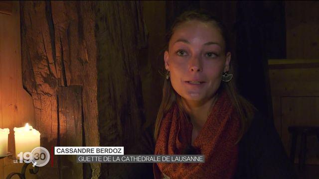 Pour la première fois de l'histoire de la cathédrale de Lausanne, une guette scandera les heures [RTS]