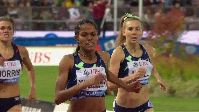 Athletissima, 1500m dames: la victoire pour Gebreeezibeher (ETH) [RTS]