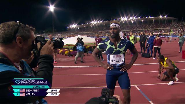Athletissima, 200m messieurs: Bednarek (USA) signe le premier chrono, Reais (SUI) 7e [RTS]