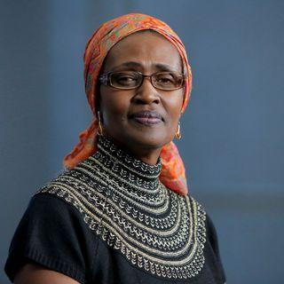 Winnie Byanyima, directrice d'ONUSIDA. [Andrew Kelly - Reuters]