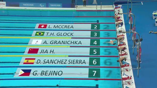 Paralympiques, natation, 200m 4N SM6: le passage de Leo McCrea (SUI) qui termine 15e [RTS]