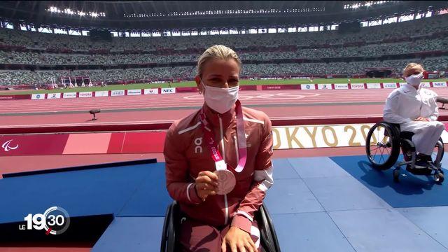 Deux premières médailles d'or et d'argent aux Jeux paralympiques de Tokyo [RTS]