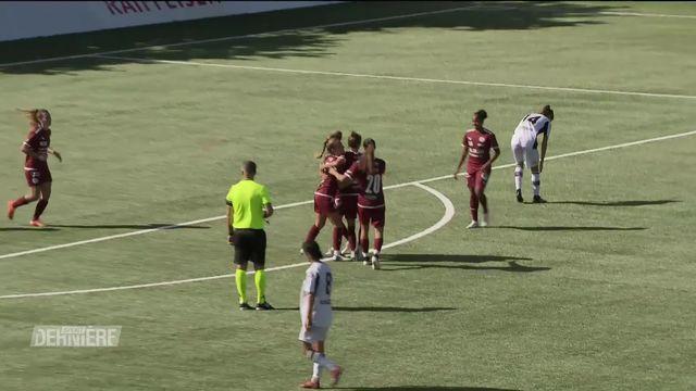 Women's Super League, 2e journée: Servette - Rapid Lugano (3-1) [RTS]