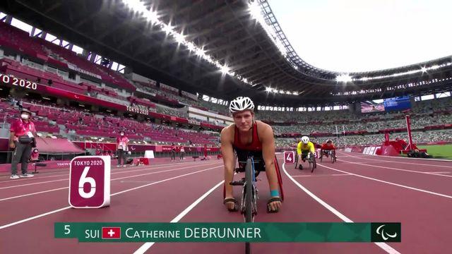 Paralympiques, athlétisme, qualifs 800m T53: Debrunner (SUI) se qualifie pour la finale [RTS]